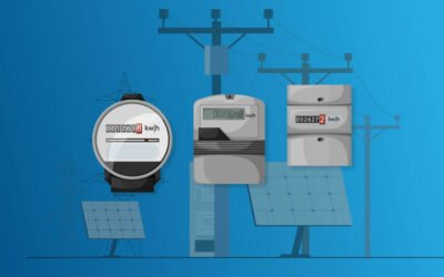 Electric Power Metering for Single and Three Phase Systems