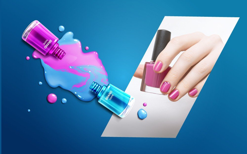 FULL MANICURE Treatment and Traditional & Permanent Nail Polish